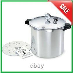 Presto Large Pressure Cooker & Canner 23-Quart Aluminum Kitchen Canning Cooking