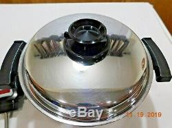 SALADMASTER MP5 Multipurpose Slow Cooker Crock Pot 5 QUART SA005OCU