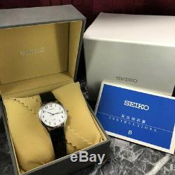 SEIKO DOLCE 8J41-0AJ0 Original Band Men's Quarts Watch with Box instruction #143