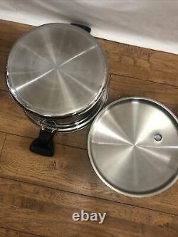 Saladmaster 10 quarts Stock Pot Stainless waterless Cookware