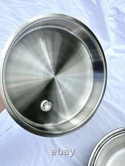 Saladmaster 316Ti 5 Quart Dutch Oven Pot Waterless Titanium Stainless Steel