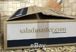 Saladmaster 5 Quarts Wok stainless Cookware Unused New