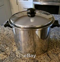 Saladmaster T304s 10 Quart Roaster Stock Pot & LID Waterless Cookware
