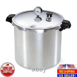 Ships Same Day Presto 01781 23-Quart Pressure Canner and Cooker, Silver NEW