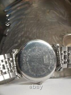 Tissot T870/970 Men's Quart Wrist Watch In Silver Swiss Made / Au Stock