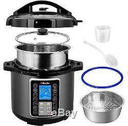 Ultra Pot Pressure Slow Cooker 15 in 1 Programmable 6 Quart Steamer Instapot new