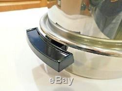 Vintage SALADMASTER 10 QT Turkey Roaster Stainless Steel EXCELLENT CONDITION USA