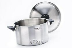 Vita Craft Vitacraft 4 Quart Stock Pot & Lid Waterless Cookware USA Stainless