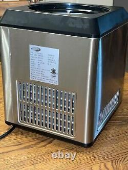 Whynter 2.1 Quart Stainless Steel ICM-201SB Upright Automatic Ice Cream Maker