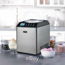 Whynter 2.1 Quart Upright Ice Cream Maker with Stainless Steel Bowl New