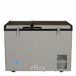 Whynter FM-62DZ Dual Zone Portable Refrigerator/Freezer 62-Quart