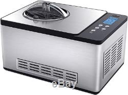 Whynter Stainless Steel 2.1-Quart Fully Automatic Ice Cream Maker