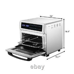Zokop Plus 11-in-1 Air Fryer Toaster Oven and Rotisserie Oven 21Quart 20L Grill