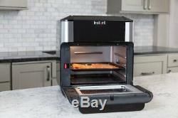 10 Instantanée Pintes Air Fryer Four Noir