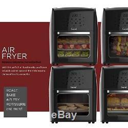 12.5 Pintes Numérique Fryer Air Avec Rôtissoire, Déshydrateur, Four À Convection 1700w