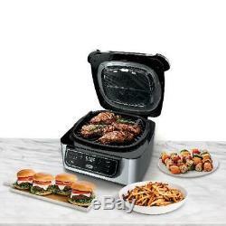 4-en-1 Grill Intérieur Avec Du 4-quart Fryer Air Avec Rôti Et Cuire Cyclonique Grill