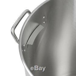80 / 100qt En Acier Inoxydable Marmite Withsteamer Panier Batterie De Cuisine F Ébullition Etuve