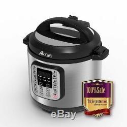A + Qualité 6 Pintes Autocuiseur Électrique Accueil Cuisine Pot Instantané 7-in-1 Nouveau