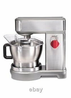 Acier Inoxydable Wolf Gourmet 7-quart High-performance Stand Mixer Free Shipping