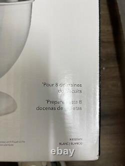 Aide À La Cuisine K45sswh Classic White 4,5-quart Tilt-head Stand Mixer Kitchenaid Nouveau