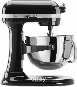 Aide À La Cuisine Pro Kp26m1x 600 Series 6 Quart Bowl Lift Stand Mixer In Onyx Black