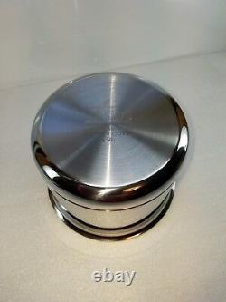 All Clad Copper Core 2 Qt Quart Sauce Pot Pan Avec Couvercle Made In America USA