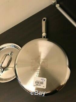 All Clad Copper Core 2 Quart Qt. Casserole À Sauce Quart Avec Couvercle Tout-clad