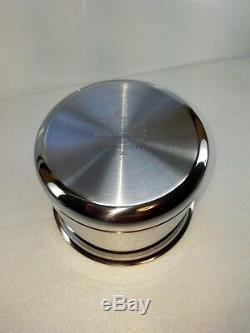 All Cuivre Clad Noyau 2 Pot Sauce Quart Qt Pan Avec Couvercle Made In America