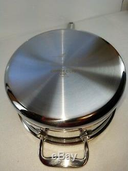 All Cuivre Clad Noyau 3 Pot Sauce Quart Qt Pan Avec Couvercle Made In America