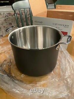 All-clad 12 Quart Stock Pot Avec LID Ltd Nouveau Dans La Boîte