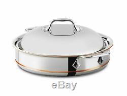 All-clad 5-ply Cuivre Noyau En Acier Inoxydable 3-quart Sauteuse Avec Couvercle