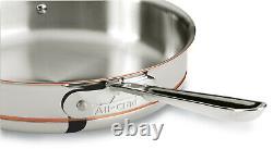 All-clad 6403 Ss Copper Core 3-quart Saute Avec LID Factory Seconds
