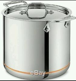 All-clad 7 Pintes Cuivre Core 5-ply En Acier Inoxydable Marmite Avec Lidnew