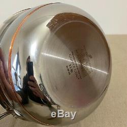 All-clad Copper Core 2.5 Pintes De Riz Et De Haricots Grains Pot Nouveau Sans Couvercle Aucune Boîte