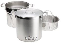 All-clad E796s364 Spécialité Acier Inoxydable, Lavable Au Lave-vaisselle, 12 Pintes