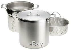 All-clad E796s364 Spécialité En Acier Inoxydable Au Lave-vaisselle 12 Pintes Multi