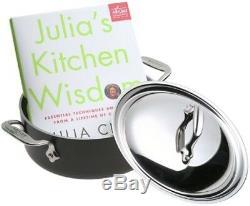 All-clad Ltd Poêle À Frire Avec Livre De Recettes Julia Enfant 2-1 / 2 Pts