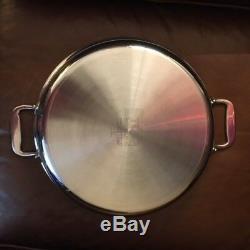 All-clad Noyau En Cuivre Tout-en-un Pan 4 Quart Nouveau Sans Boîte (modèle D'affichage)
