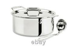 All-clad Sd555063 D5 5-ply En Acier Inoxydable De 6 Pintes Soupe Pot- Secondes Usine