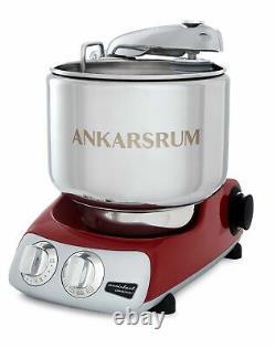 Ankarsrum Assistant Original Akm 6230 Mélangeur De Support Électrique, 7.4 Quart En Rouge