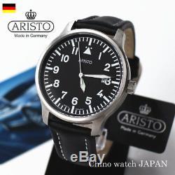 Aristo Pilot Quarts 3h84 Aviator Fabriqué En Allemagne Livraison Gratuite Au Japon