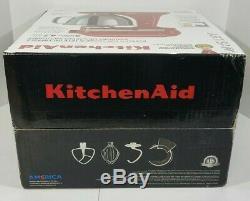 Artisan De Kitchenaid 5 Pintes Batteur Empire Ksm150pser- Rouge