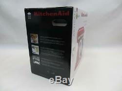 Artisan De Kitchenaid Série 5 Pintes Tête Inclinable Batteur Sur Socle, Rouge Empire (ksm150pser)