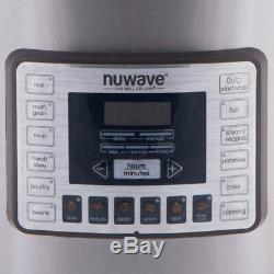 Autocuiseur Électrique Numérique Nutri Pot En Acier Inoxydable Nuwave De 13 Pintes