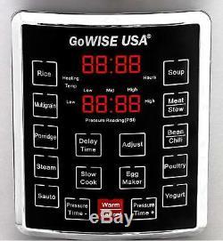 Autocuiseur Multi-usage 10 En 1 Autocuiseur Programmable 8 Litres, Pot 1000w Insta