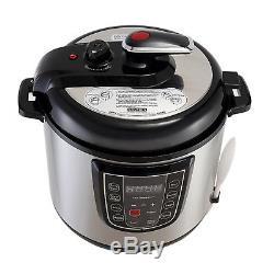 Autocuiseur Multifonction Numérique En Acier Inoxydable 6/8/10 / 12qt Pour Cuisine