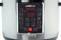 Autocuiseur Programmable Électrique 12-en-1 De 14 Pintes En Acier Inoxydable
