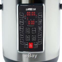 Autocuiseur Programmable Électrique Gowise, 14 Pintes, 12 En 1, Acier Inoxydable