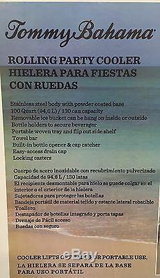 Bahama Poitrine Inoxydable Patio Cooler Glace Tommy Bahama Cooler 100 Ptes