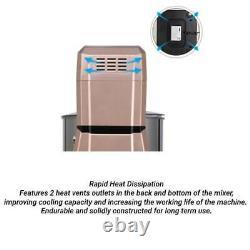 Batteur De Comptoir De Support Alimentaire Électrique 7.5quart 660w 6 Vitesse Bol En Acier Inoxydable